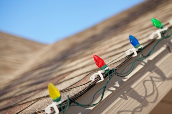 While Hanging Christmas Lights, Look for These Potential Roof Problems   Williams Roofing Company